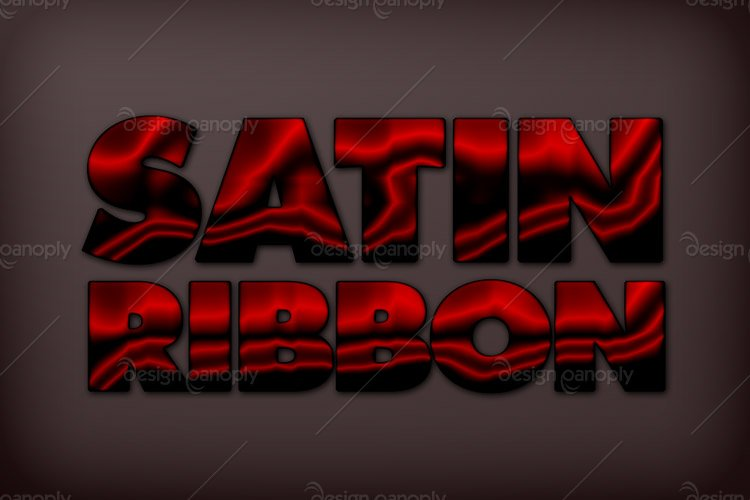 Satin Ribbon Photoshop Style