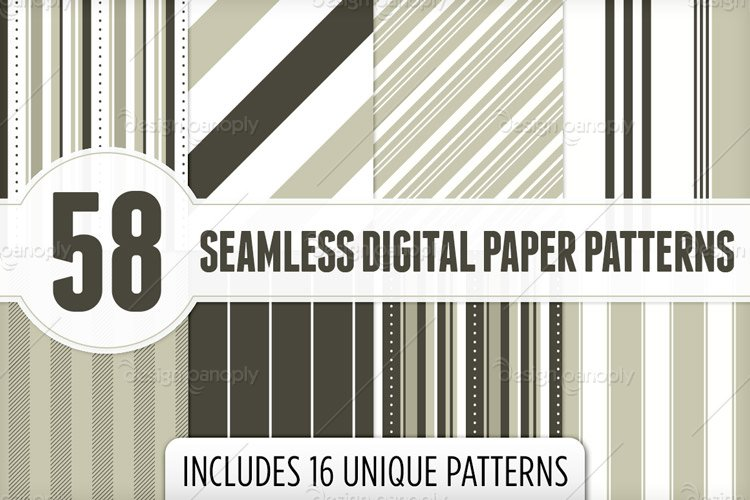 Seamless Digital Papers Pattern Pack 2
