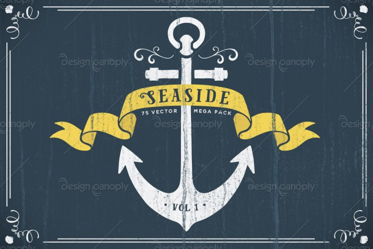 Seaside Nautical Vector Pack Volume 1