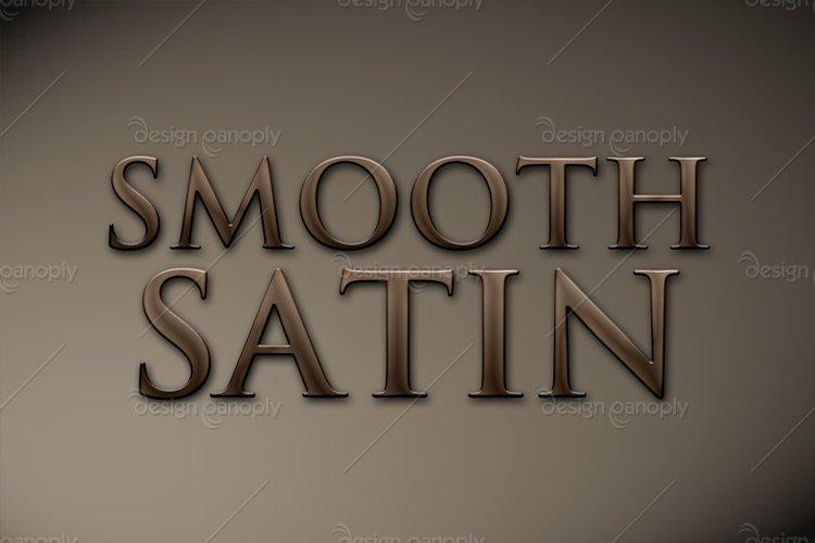Smooth Satin Photoshop Style