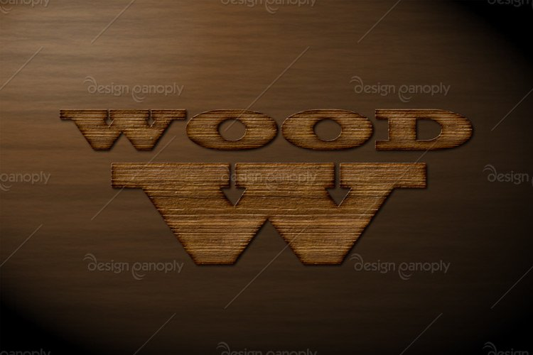 Western Wood Photoshop Style