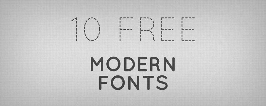 10 Useful Modern Fonts for Designers | Design Panoply
