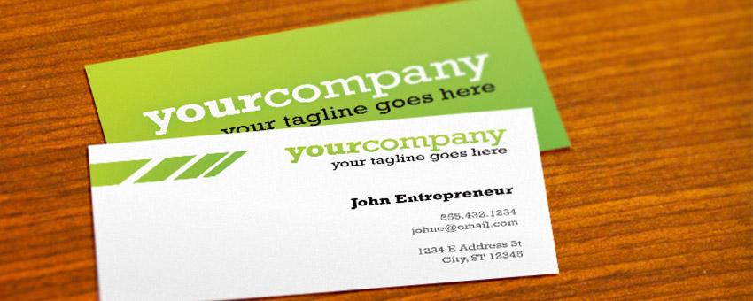 Create A Business Card Mockup In Photoshop Using The Vanishing ...