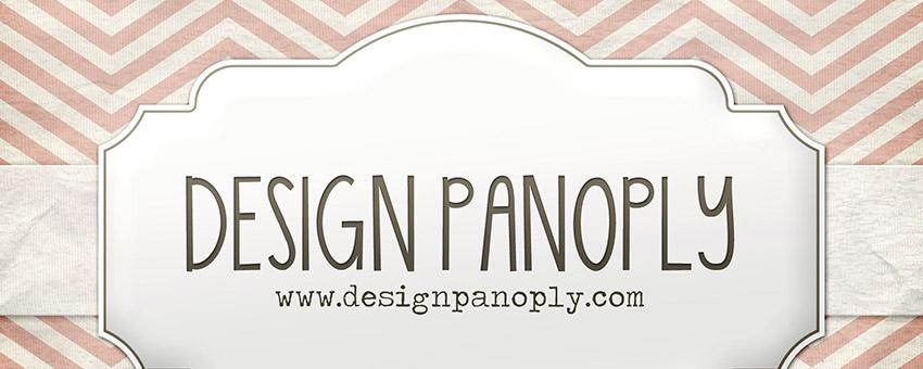 Realistic Patterned Vintage Card and Ribbon