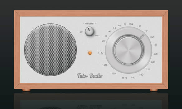 Design a Cool Radio Icon in Photoshop