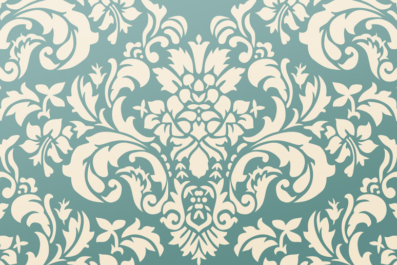 ornate damask pattern pack 1 design panoply