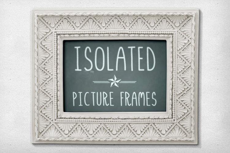 . Isolated Picture Frames 2   Design Panoply