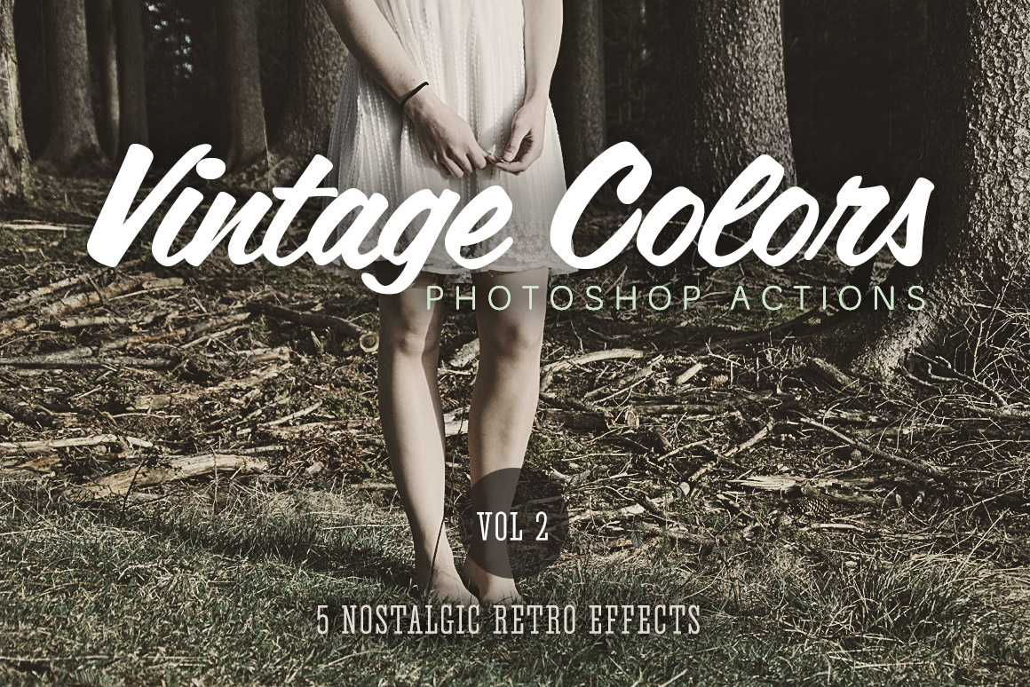 Free Old TV Photoshop Actions | Design Panoply
