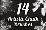 Artistic Chalk Brush Pack 1