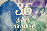Bubble Textures Brush Pack 1