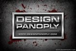 Sharp Brushed Metal Nameplate Background Project Files