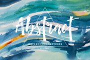 Abstract Watercolor Textures Volume 1