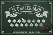 Chalk and Charcoal Photoshop Styles Volume 1