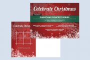 Christmas and Holiday Announcement Templates