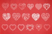Decorative Heart Vectors Volume 1