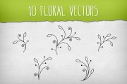 Floral Vector Pack 3