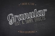 Granular Text and Shape Effects Volume 1
