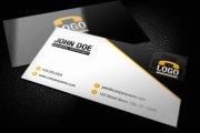 Modern Business Card Template 1