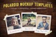 Polaroid Mockup Templates Volume 1