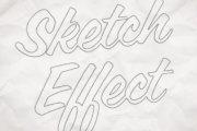 Hand Drawn Sketch Effect