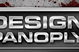 Design A Sharp Brushed Metal Nameplate Background