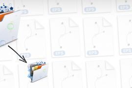 Dramatically Reduce EPS File Size