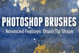 Photoshop Brushes Advanced Features: Brush Tip Shape