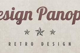 Retro Linen Textured Letterpress Graphic