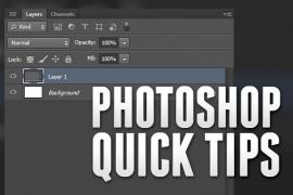 Photoshop CS6 Quick Tip: Set Layer Opacity to 100% Using Your Keyboard