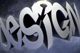 Warped 3D Text Using Photoshop Repousse and Zbrush