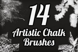 Artistic Chalk Brush Pack 1