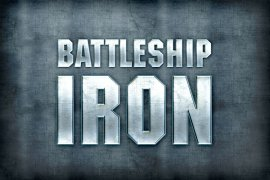 Battleship Iron Photoshop Style