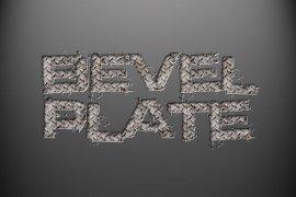 Beveled Plate Photoshop Style