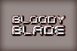 Bloody Blade Photoshop Style