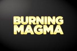 Burning Magma Photoshop Style