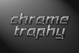 Chrome Trophy Photoshop Style