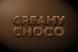 Creamy Chocolate Photoshop Style