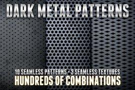 Dark Metal Pattern Pack 1