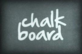 Dusty Chalkboard Photoshop Style