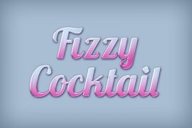 Fizzy Cocktail Photoshop Style