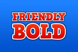 Friendly Bold Photoshop Style