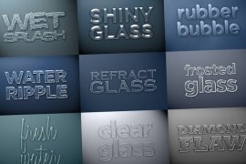 Glass and Water Styles Pack 1