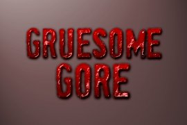 Gruesome Gore Photoshop Style