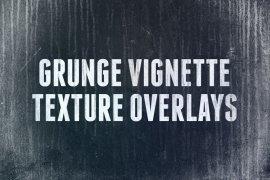 Grunge Vignette Texture Overlays 1