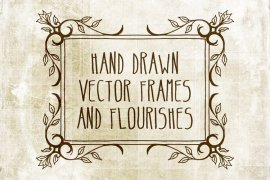Hand Drawn Vector Frames Pack 2