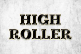 High Roller Photoshop Style