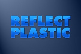 Reflective Plastic Photoshop Style