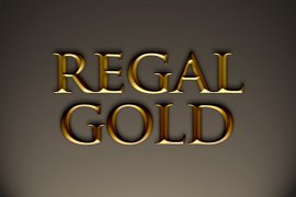 Regal Gold Photoshop Style
