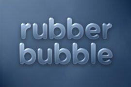 Rubber Bubble Photoshop Style