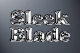 Sleek Blade Photoshop Style